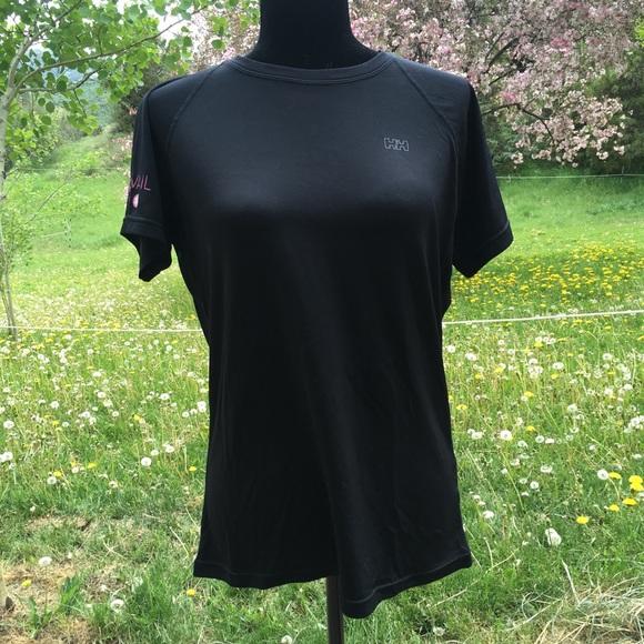 eleganckie buty kupuj bestsellery gorący produkt Helly Hansen Pink Vail Tech T-shirt